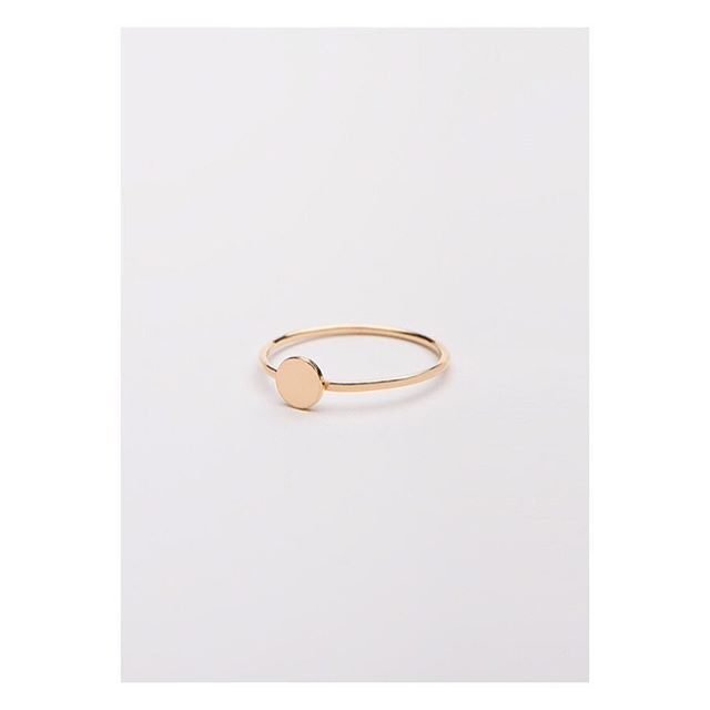 Dot ring gold. Gold plated silver with 24 carat gold . . . . . #simple #basic #classy  #minimalism #jewellery #punjewellery #design #gold #silver