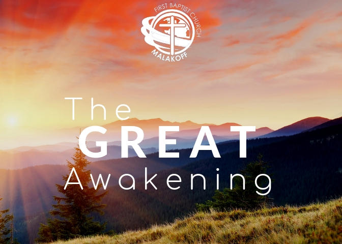 The Great Awakening Sermon Series - In the book of Acts, we see the beginning of a new movement of God that establishes God's Church. This Great Awakening changed the world of the first disciples of Jesus Christ and will continue to change lives until He returns.Join us as we discover, trace, and experience the powerful movement of God through the formation of the Early Church in the book of Acts.