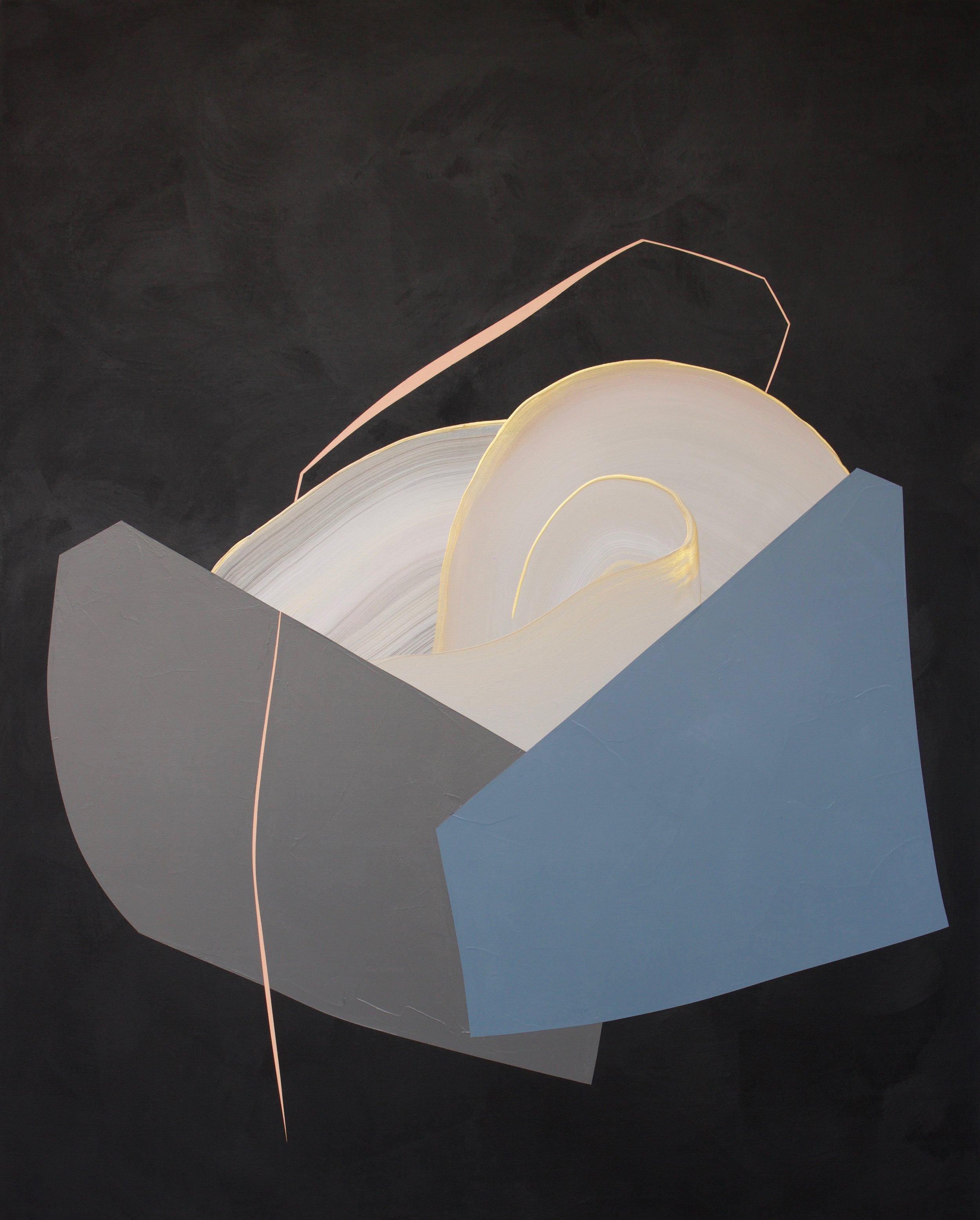 Feeling Good Mixed acrylic medium on canvas 48x60 inches $2350.00