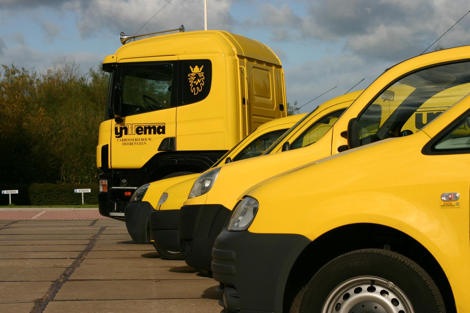 Servicewagens 24-uurs service pech hulp IJntema