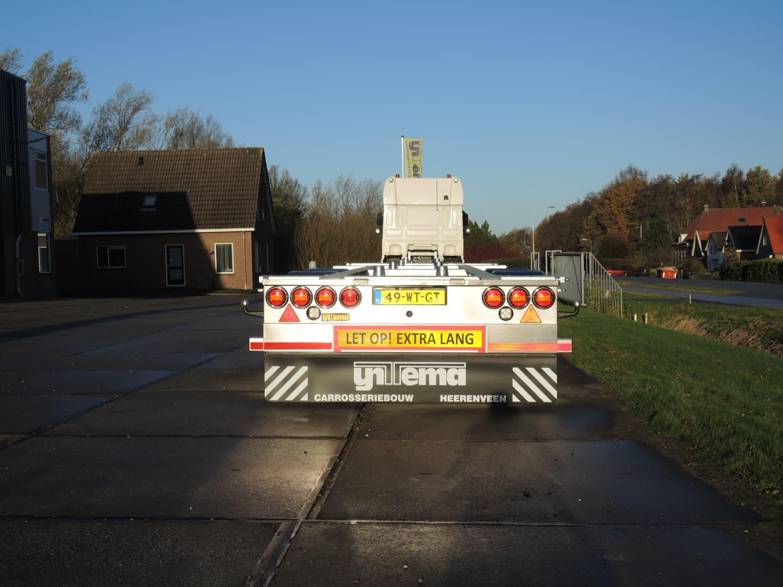 Middenas aanhangwagen Arrowline Amsterdam - achter