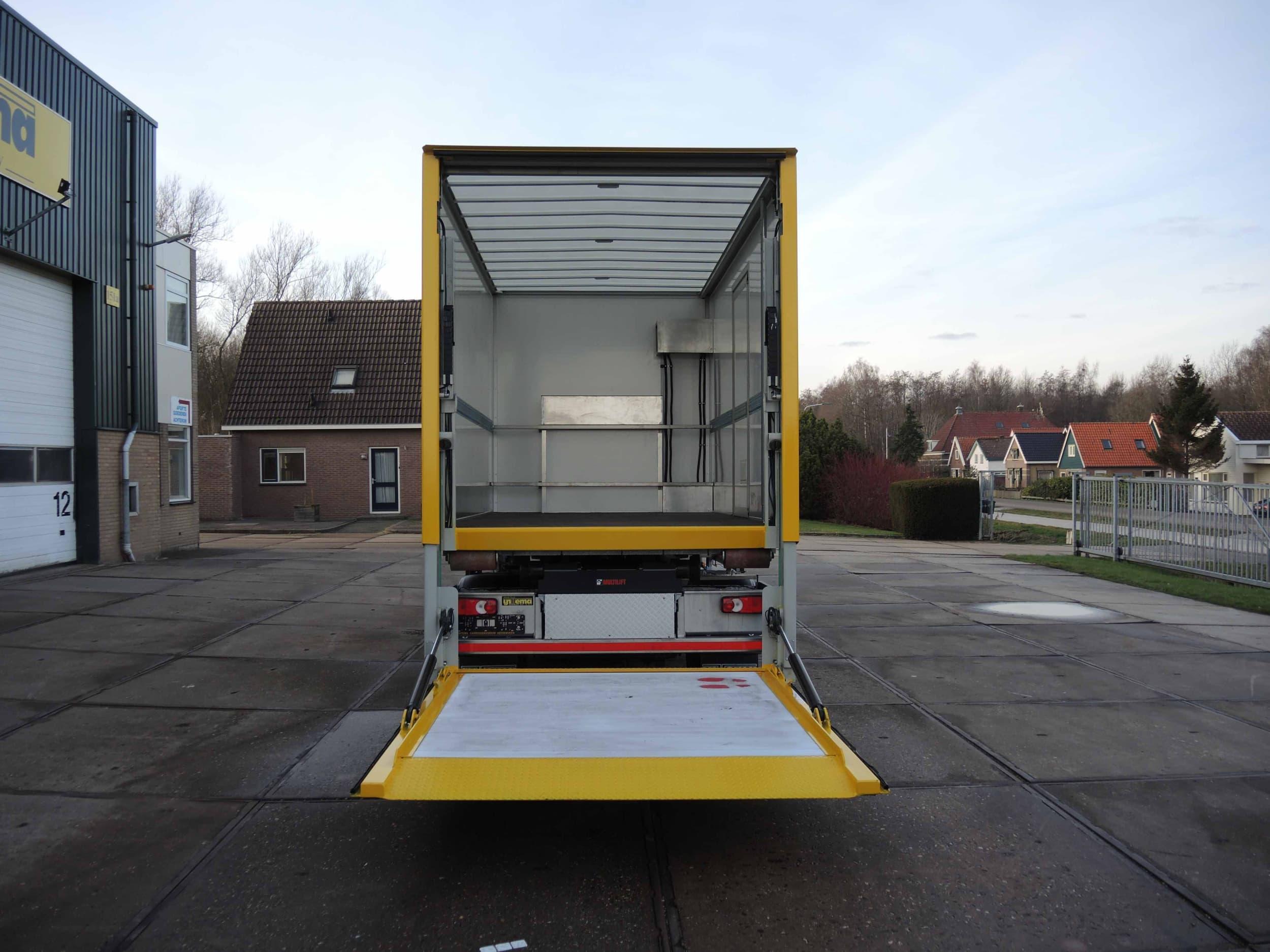 Containersysteem DAF LF voor Gemeente Sudwest Friesland
