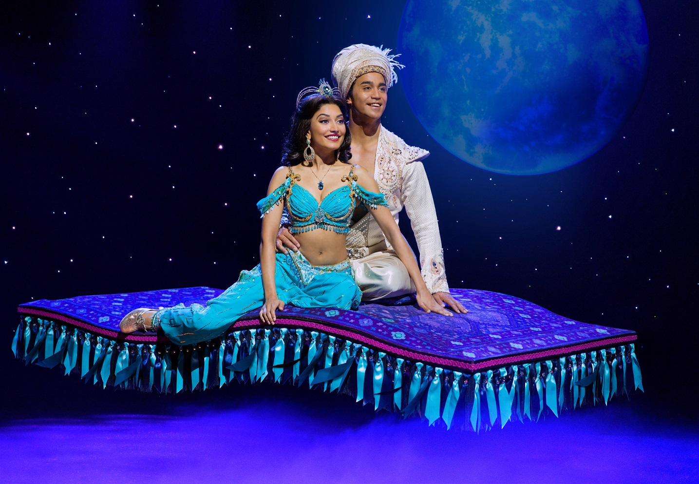 "Performance of ""A Whole New World"". Image courtesy of BASE Entertainment"