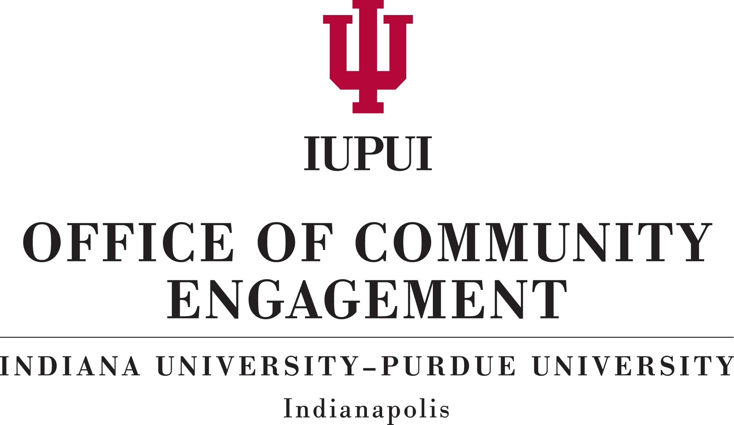 IUPUI Office of Community Engagement logo