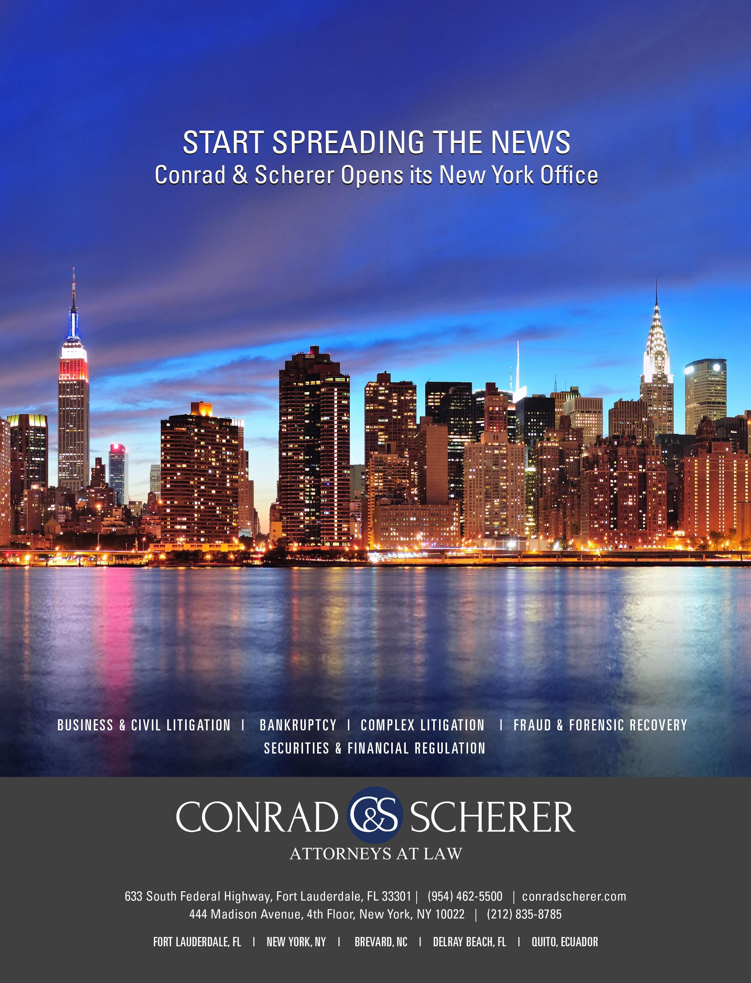 Client: Conrad & Scherer
