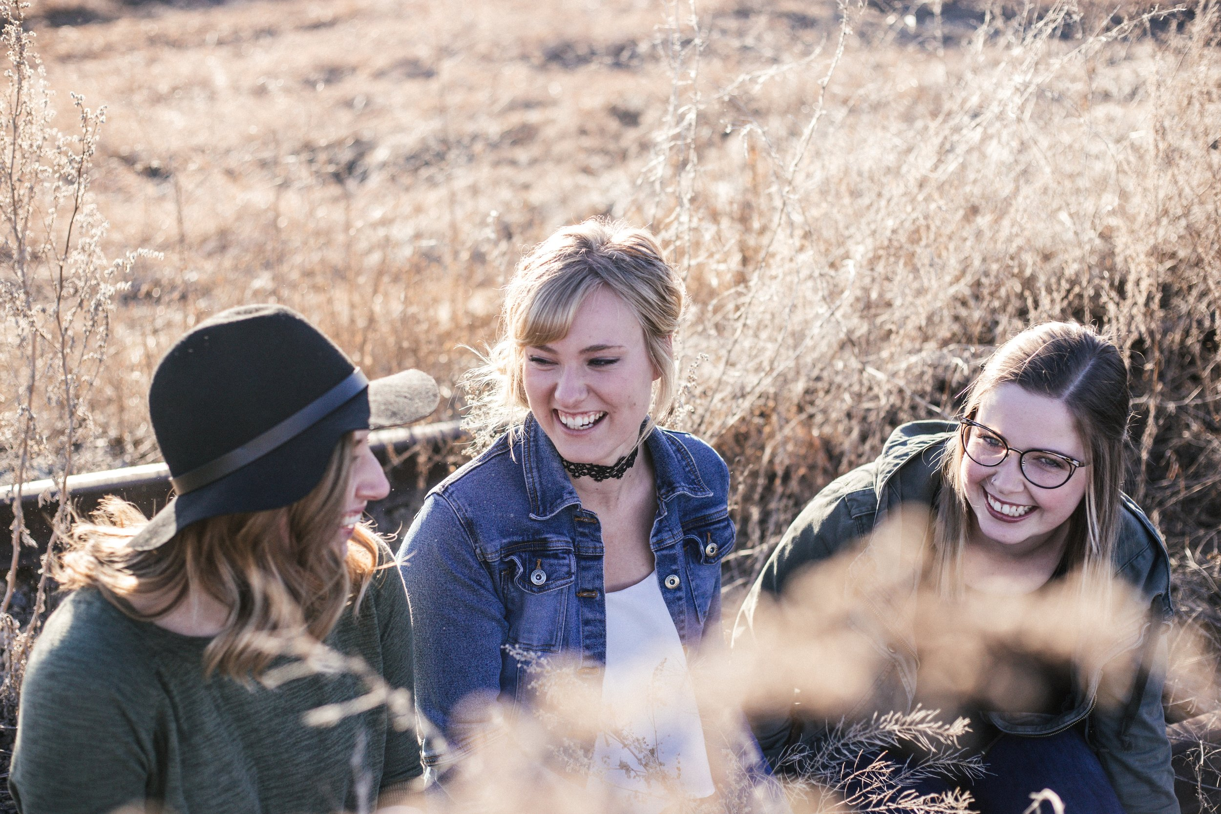 JOIN A SMALL GROUP - Get together with others each week to talk about Sunday's message. Starting 9/29.