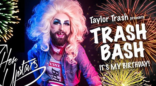 This Thursday at Camden's @her_upstairs I'll be celebrating not only my 34th birthday (I know right!?) but my 4th year of existence as Miss Trash! Please come along if you're in the area folks - we have fab shows from some amazing performers @missbhavendrag @ranktaxi @mrmsmars @msmarypoppers @cliona_craic @kaikaikween @daisypuller and the bar has had a bit of a fairy dust sprinkling and is looking sexy! Much love y'all! 💋BRING PRESENTS AND CAKE 😂 shows from 8/9pm (I'm always late). £5 entry after 8pm. Tip jar in operation 💸