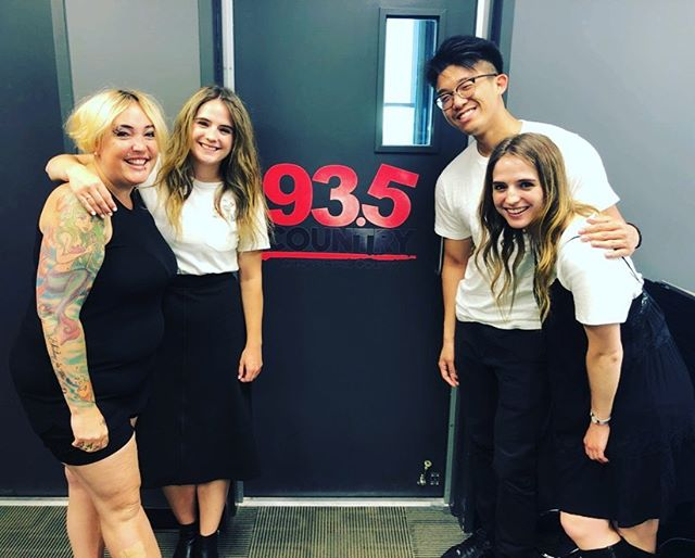 Had such a great time hanging with @careonair this afternoon over at @country935fm 🎶🤠We chatted about women in Country music, the amazing pool of artists in the Kingston area, and of course @downtownkingston 's #CountryThursday tomorrow night! 🤗 We'll be playing from 7 to 8 PM in Confederation Basin!! Bring your lawn chair and we'll see ya there! 🥳😎☀️ . . . . #radio #interview #country #countrymusic #live #kingston #ontario #ygk #countryartist #newartist #womeninmusic #goodtimebeingawomen #odette #downtownkingston #canada #canadianartist
