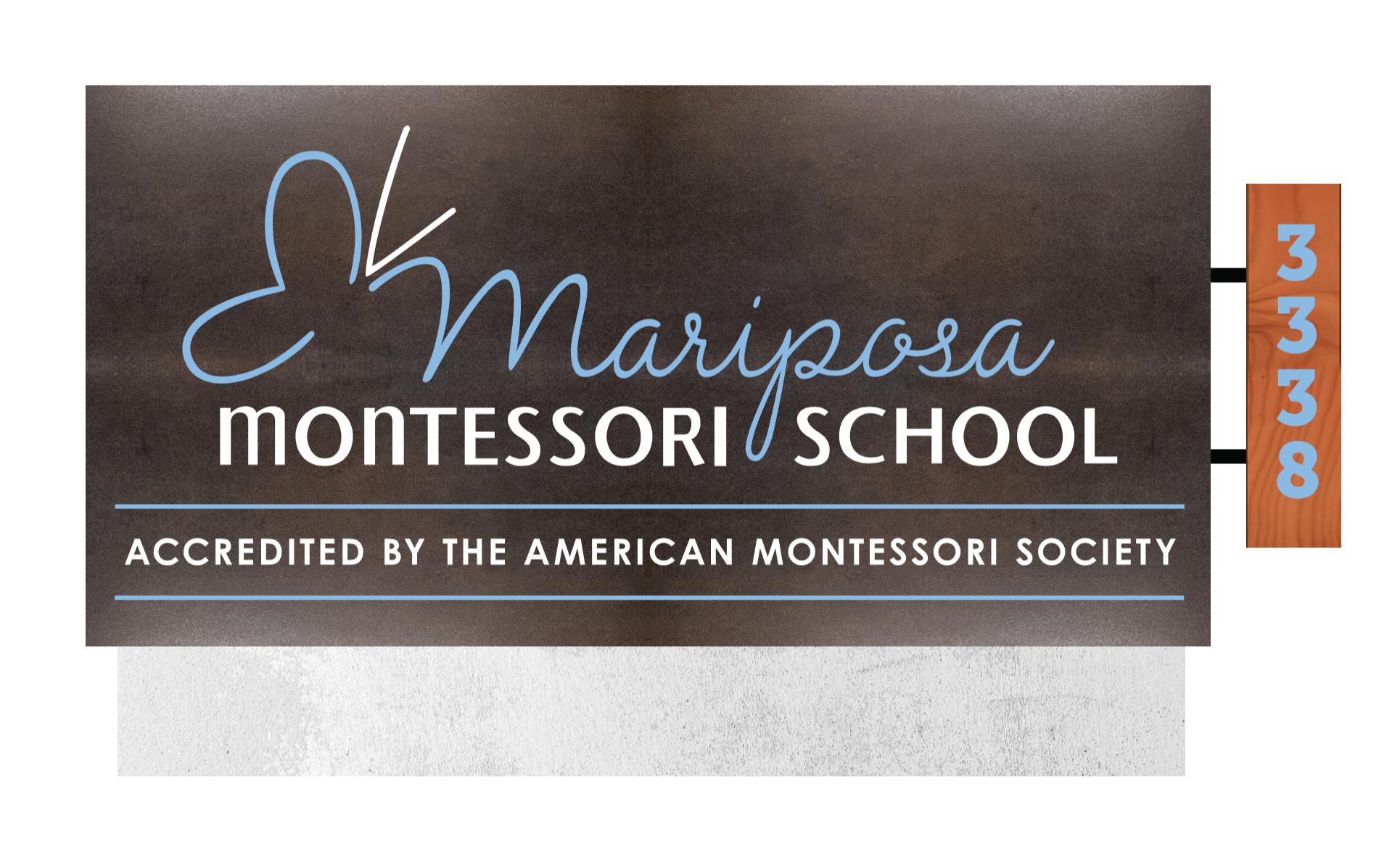 Mariposa Montessori_Monument Sign