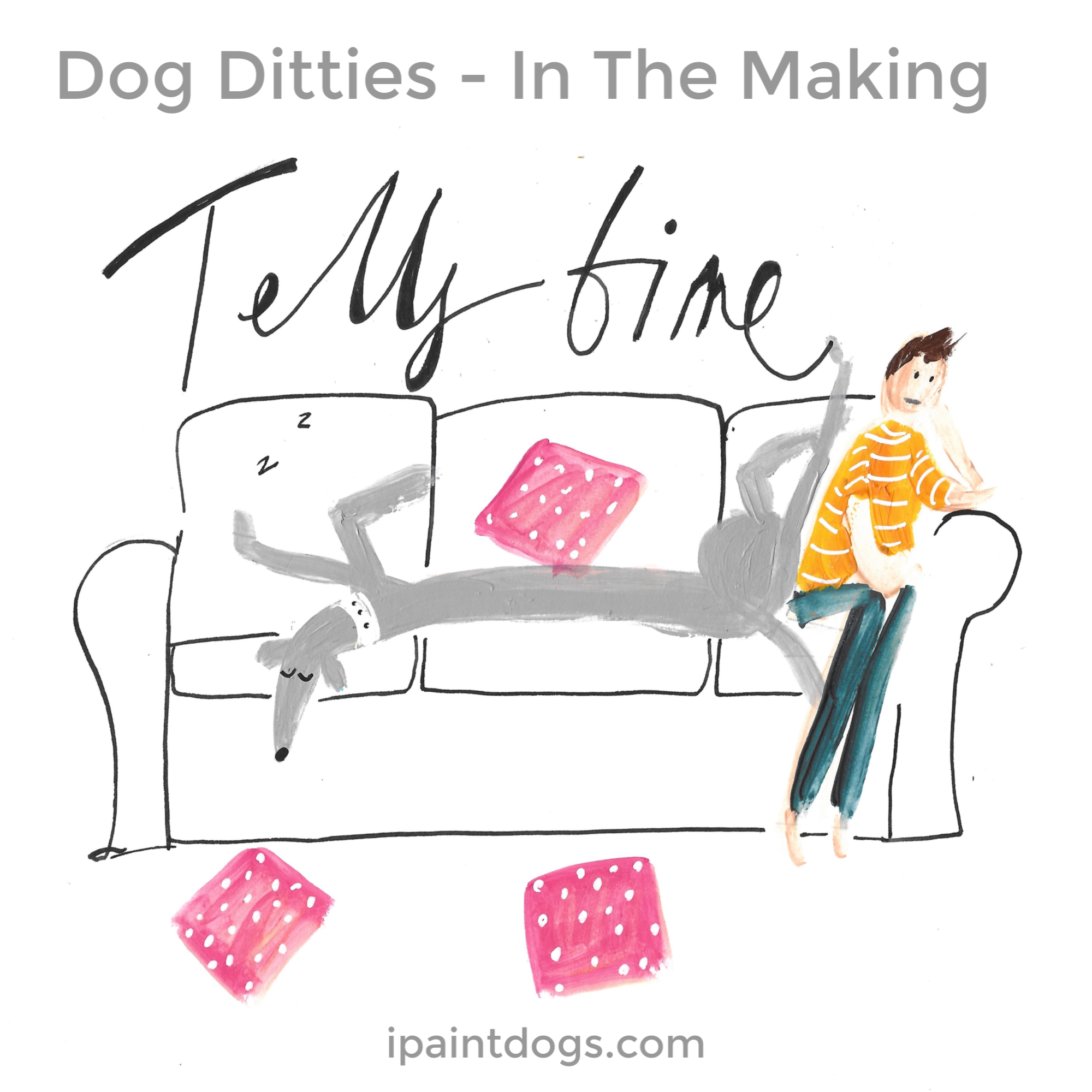 Dog Ditties, Cartoons by ipaintdogs.com