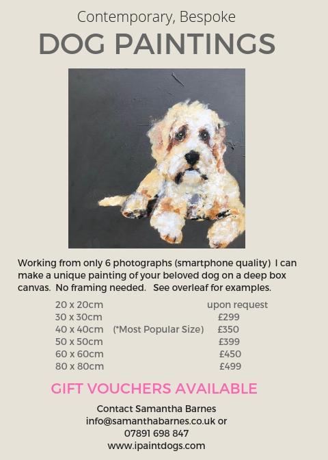 ipaintdogs, price list