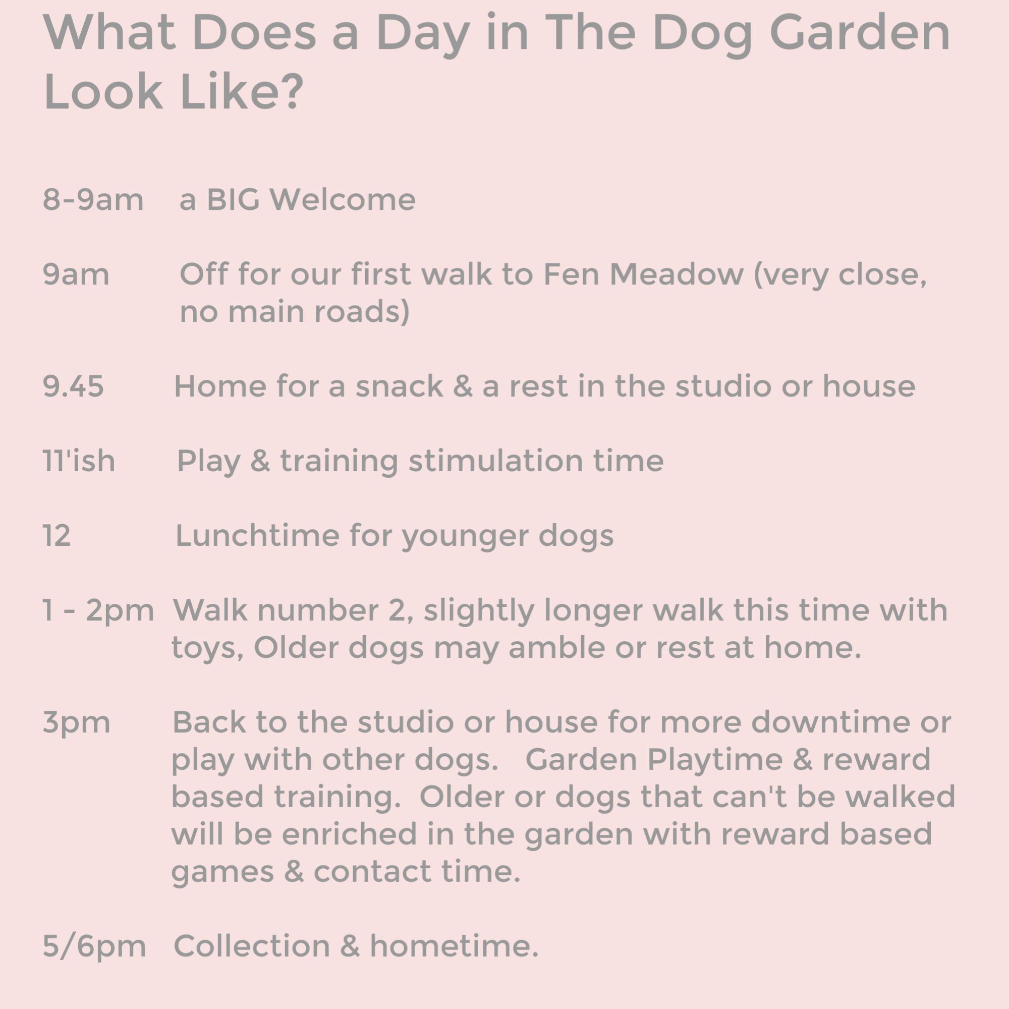 The Dog Garden, Woodbridge