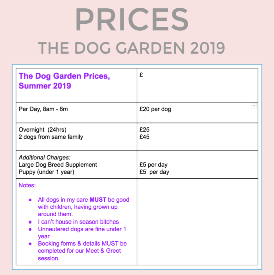 Prices For The Dog Garden 2019 Master Master.png