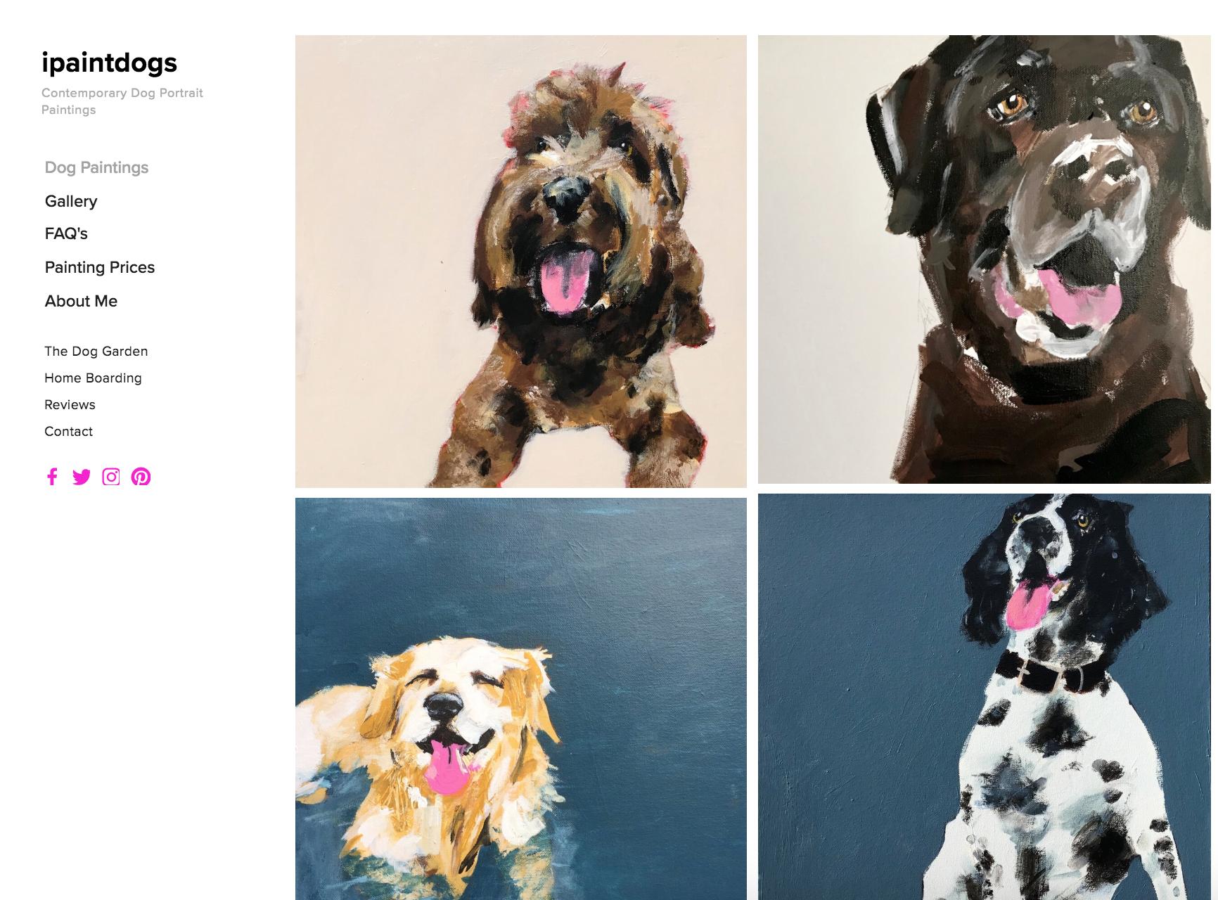 ipaintdogs.com is Samantha Barnes Artist