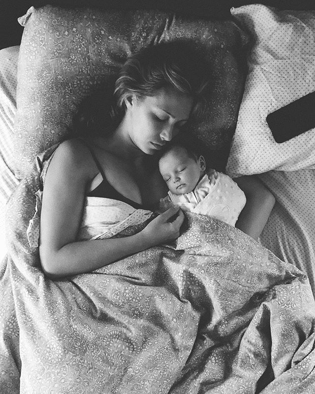 Do I creep on my wife and daughter while they sleep? Absolutely I do! 😍