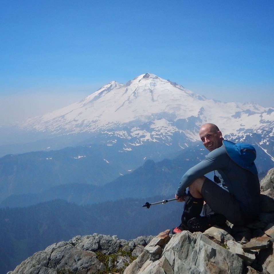 Overlooking Mount Baker