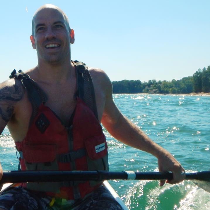 Paddling on Lake Lanier
