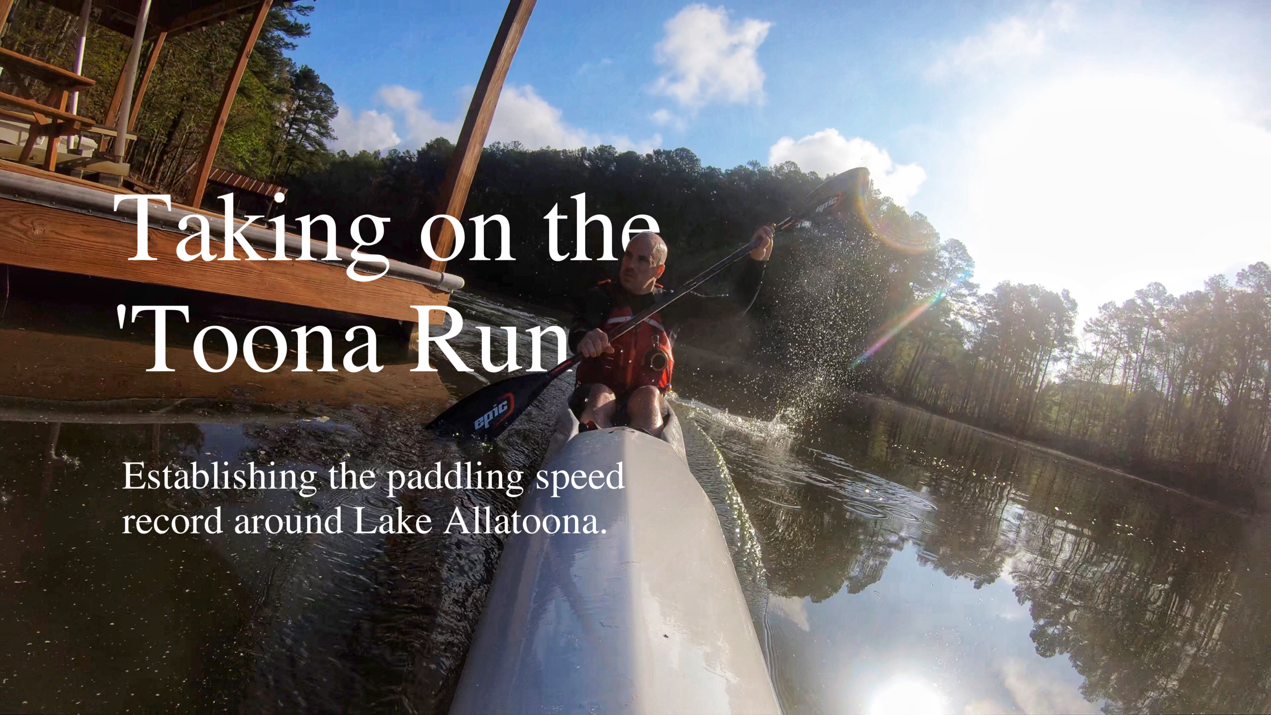 Taking on the 'Toona Run
