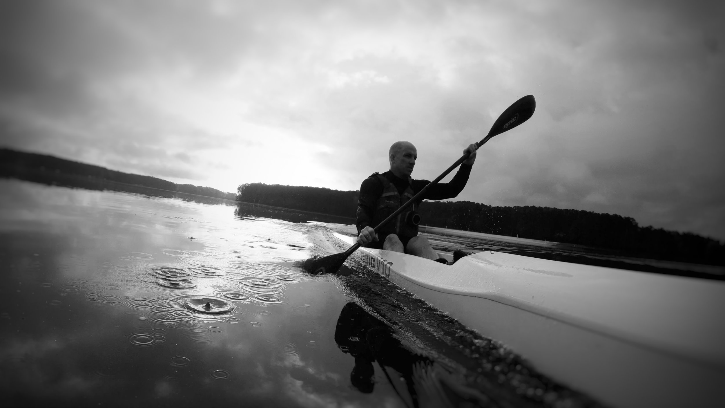 Training session in my  Epic V10 Surfski  with  Full Carbon ProGrip Series Wing Paddle