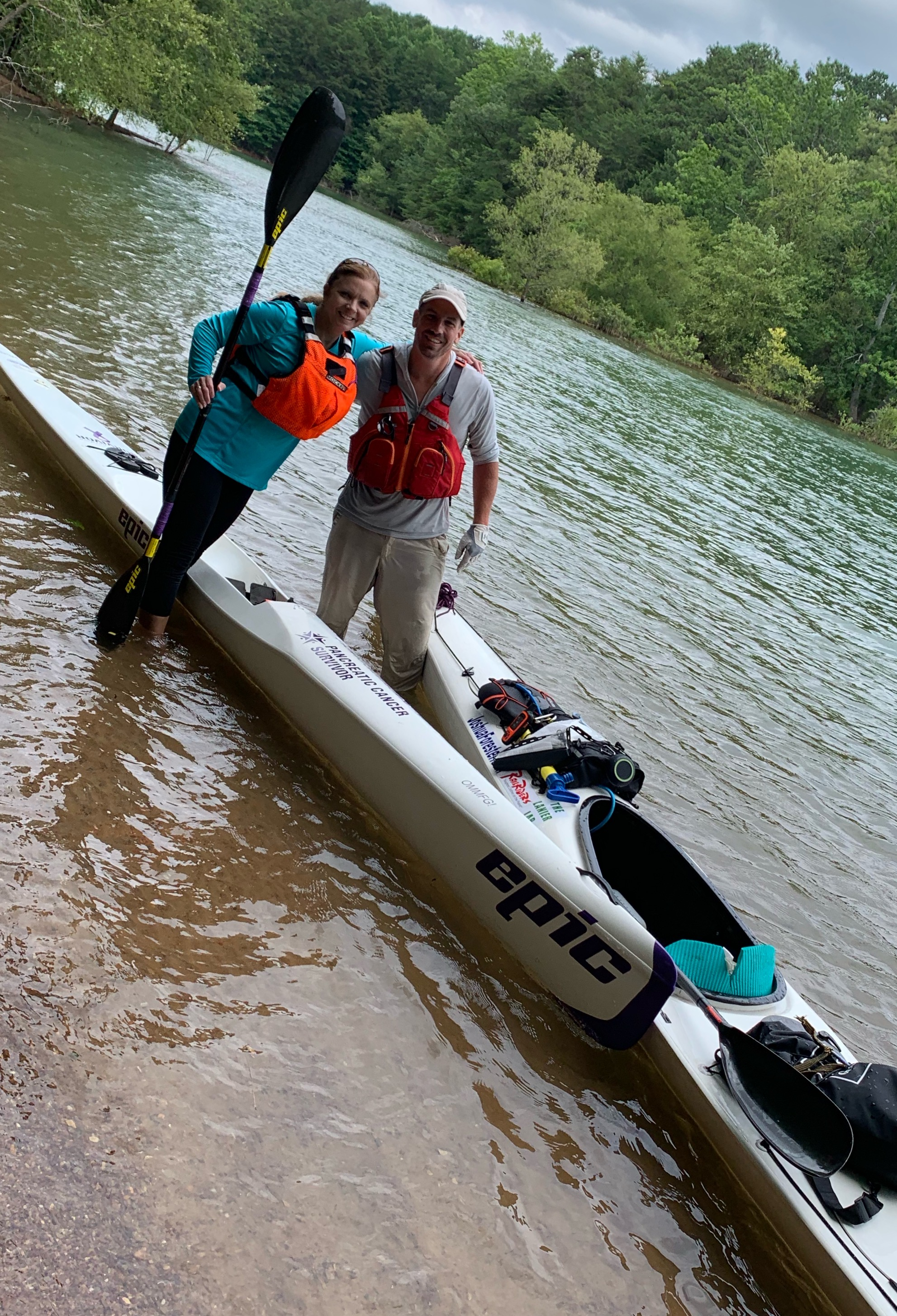 Joined by Dana Richardson the final day of The Lanier Lap