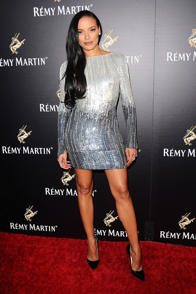 Model Selita Ebanks attends a special evening hosted by Remy Martin