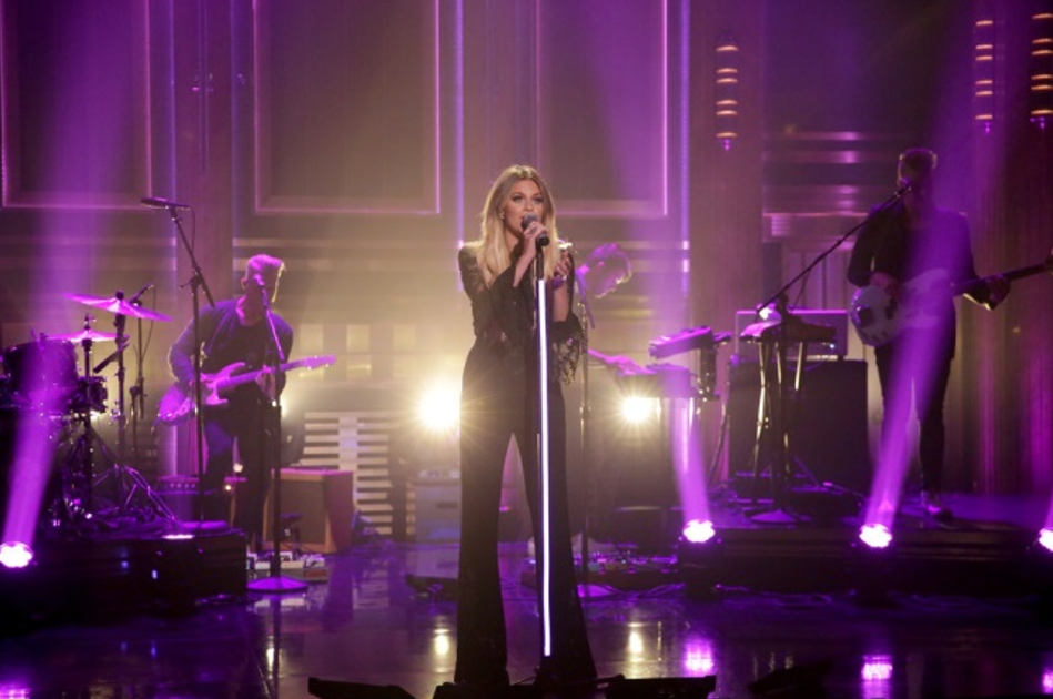 "THE TONIGHT SHOW STARRING JIMMY FALLON Musical Guest Kelsea Ballerini performs ""Legends"