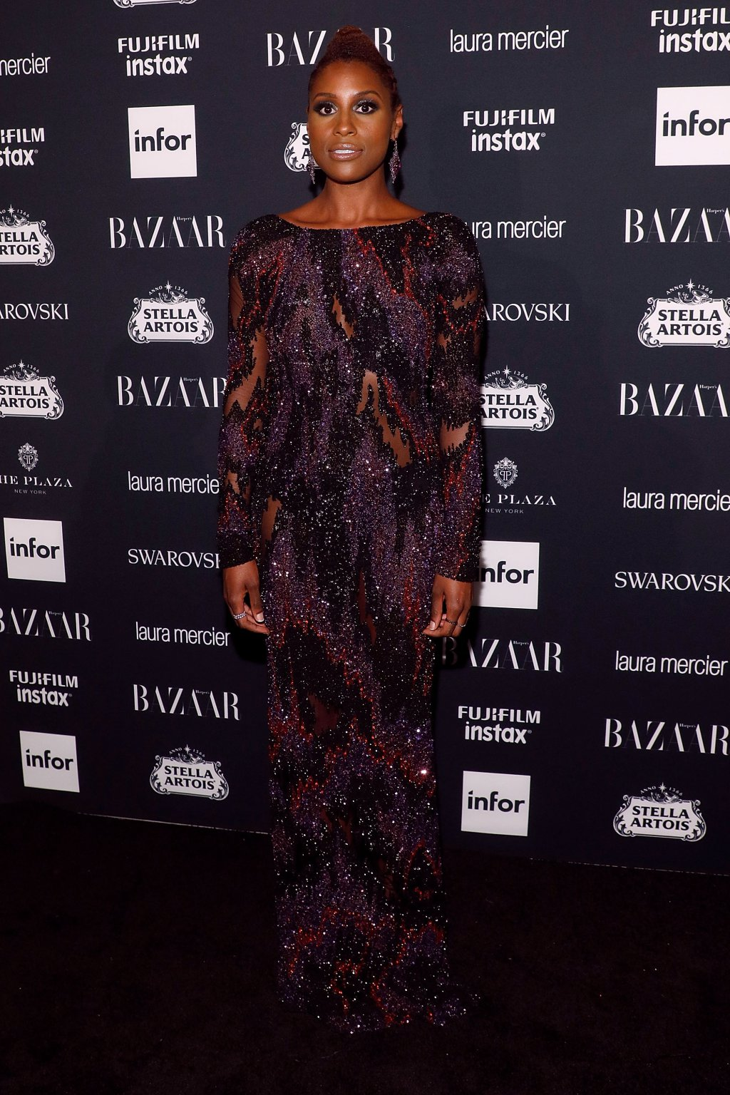 "Issa Rae attends Harper's BAZAAR Celebration of ""ICONS By Carine Roitfeld"" at The Plaza Hotel"