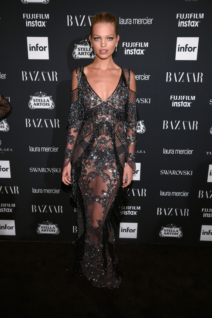 "Daphne Groeneveld attends Harper's BAZAAR Celebration of ""ICONS By Carine Roitfeld"" at The Plaza Hotel"