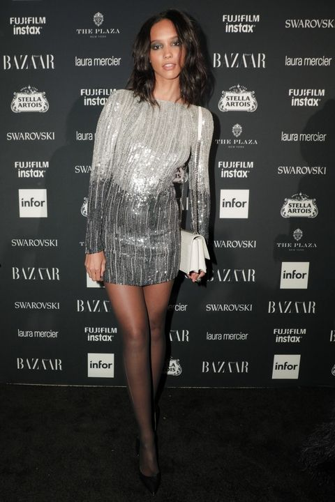 "Cora Emmanuel attends Harper's BAZAAR Celebration of ""ICONS By Carine Roitfeld"" at The Plaza Hotel"