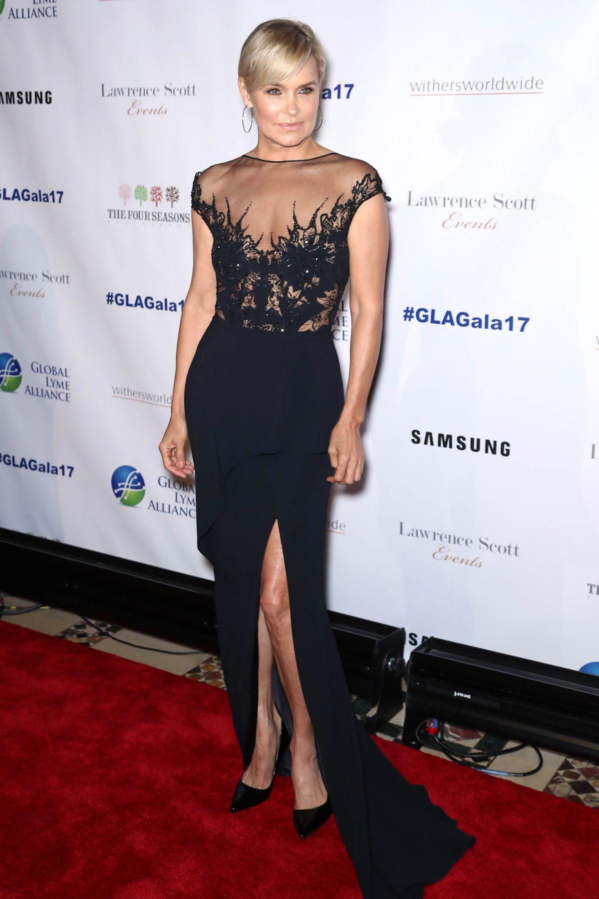 Yolanda Hadid attends the third annual Global Lyme Alliance Gala