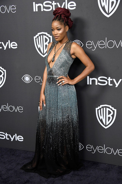 Actress Keke Palmer attends the 18th Annual Post-Golden Globes Party