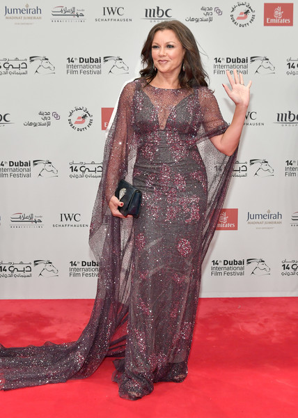 Vanessa Williams attends the Opening Night Gala of the 14th annual Dubai International Film Festival