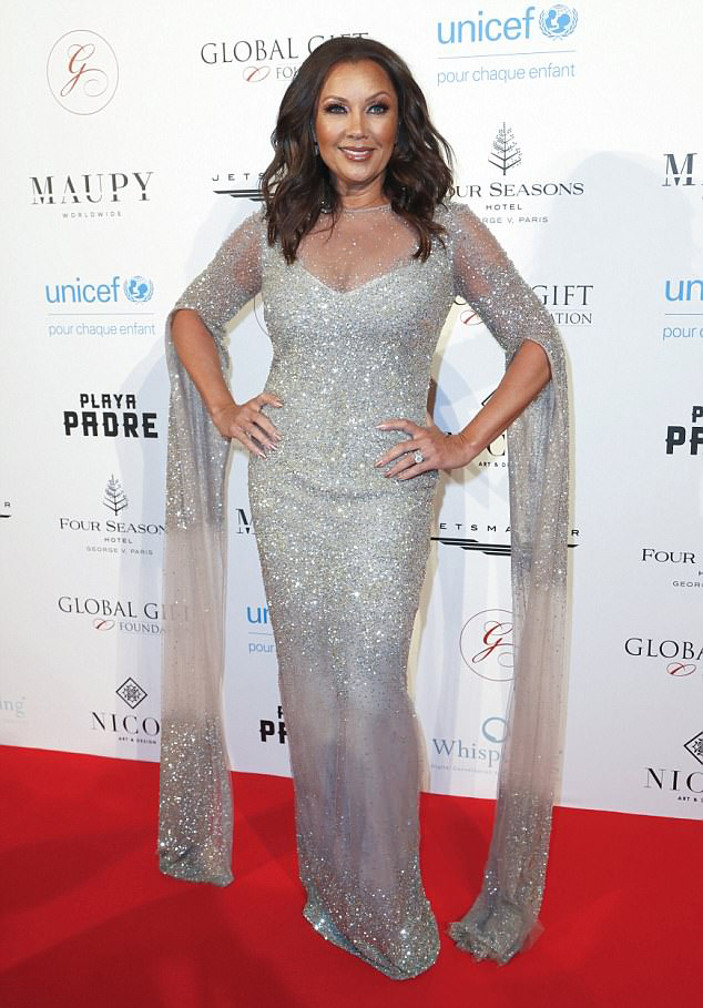 Vanessa Williams at the Global Gift Gala in Paris.