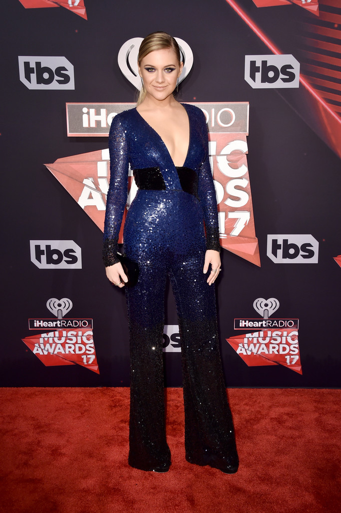 Kelsea Ballerini attends the 2017 iHeartRadio Music Awards.