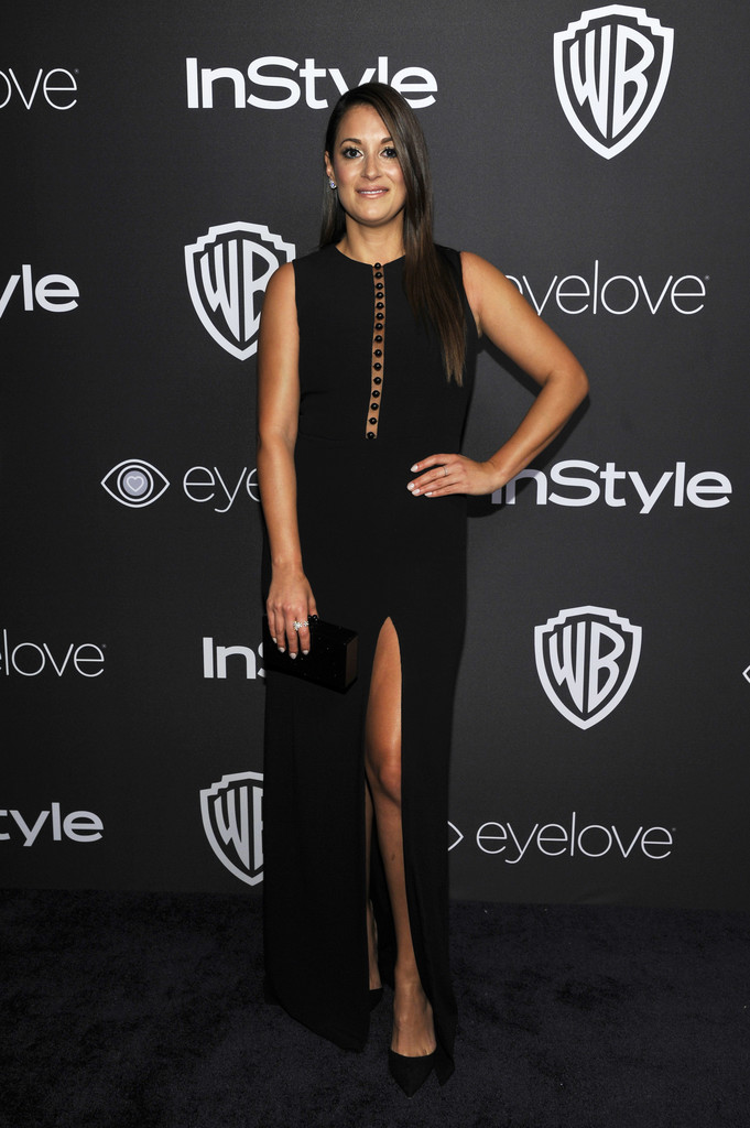 Angelique Cabral attends The 2017 InStyle and Warner Bros. 73rd Annual Golden Globe Awards Post-Party.