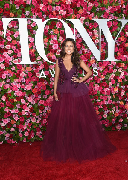 Ashley Park attends the 72nd Annual Tony Awards at Radio City Music Hall