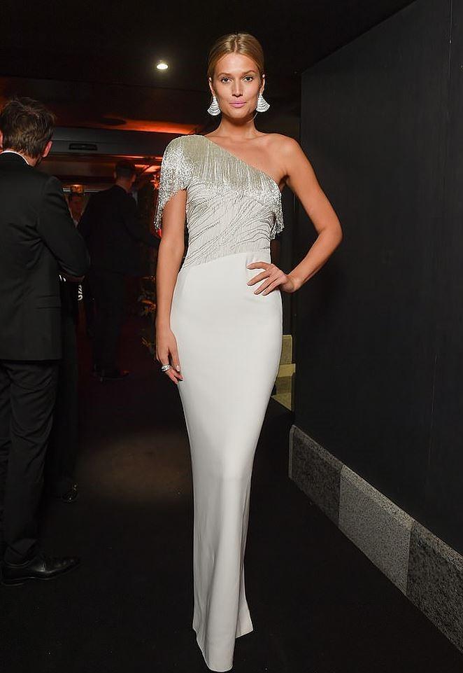 Toni Garrn at the Naked Heart France Gala