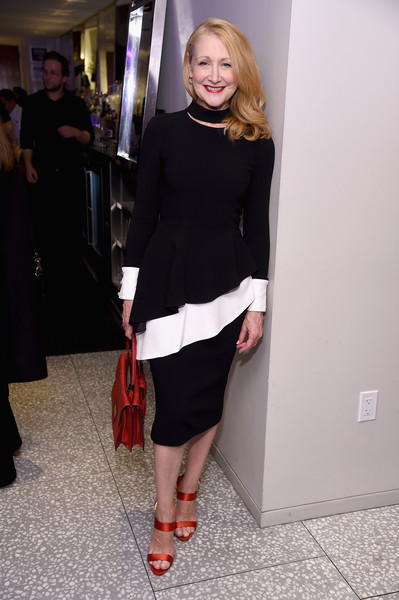 Event host Patricia Clarkson attends Housing Works' Fashion for Action 2018 reception at Fred's at Barney's