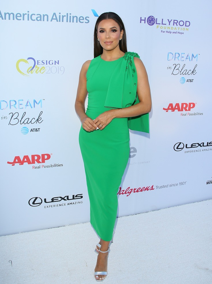 Eva Longoria attends the HollyRod Foundation's 21st Annual DesignCare Gala