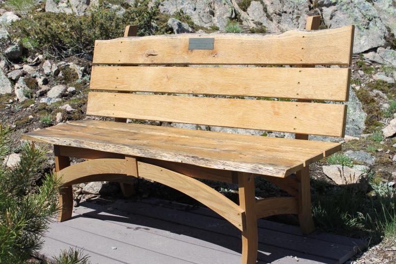 live edge oak bench reclaimed wood fine furniture