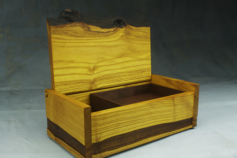 handmade custom treasure box kansas city woman maker