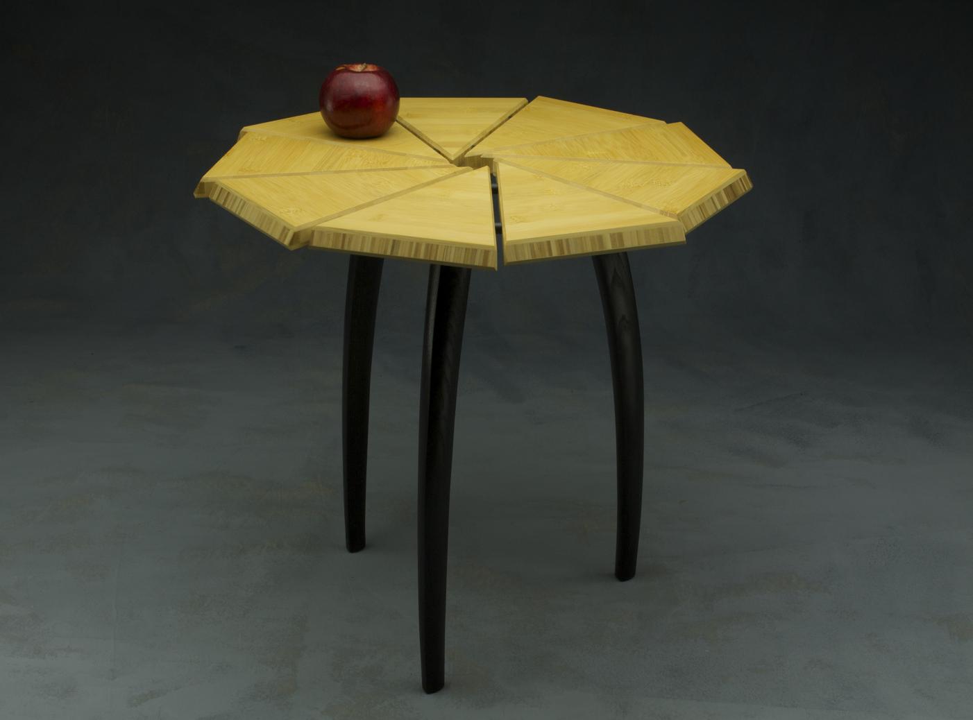 bamboo and ebonized ash custom fine furniture