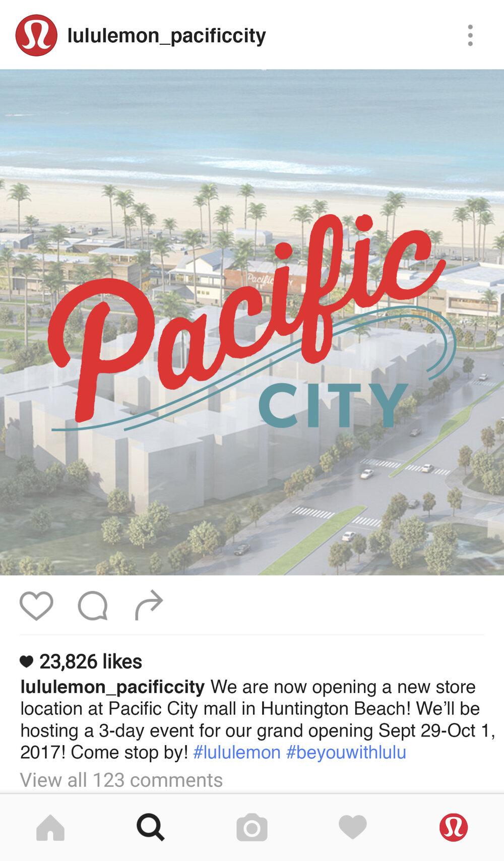 Social Media Advertisement: Instagram Account