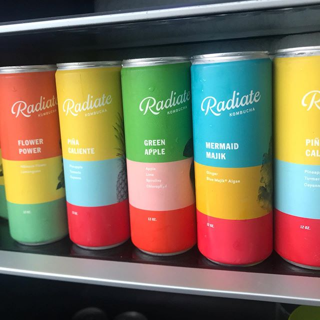 YES! 💥Look 👀 who just made to @pilathon 💃🏻 KOMBUCHA 🌈 from our dear @susancartiglia founder, creator, master mind and momma of @radiatemiami Good for your #guthealth for the #soul and kind to the #motherplanet 🙏🏼