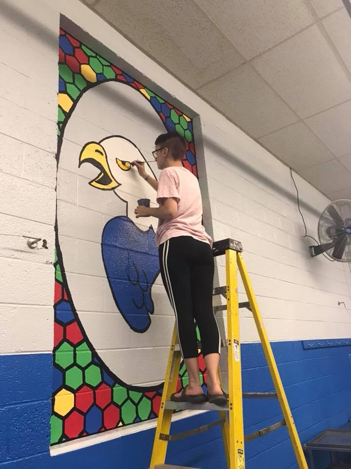 Marybeth Cairns - Murals at St. John Fraser - 3 - 2018.jpg