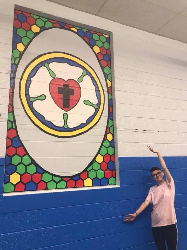 Marybeth Cairns - Murals at St. John Fraser - 2018.jpg