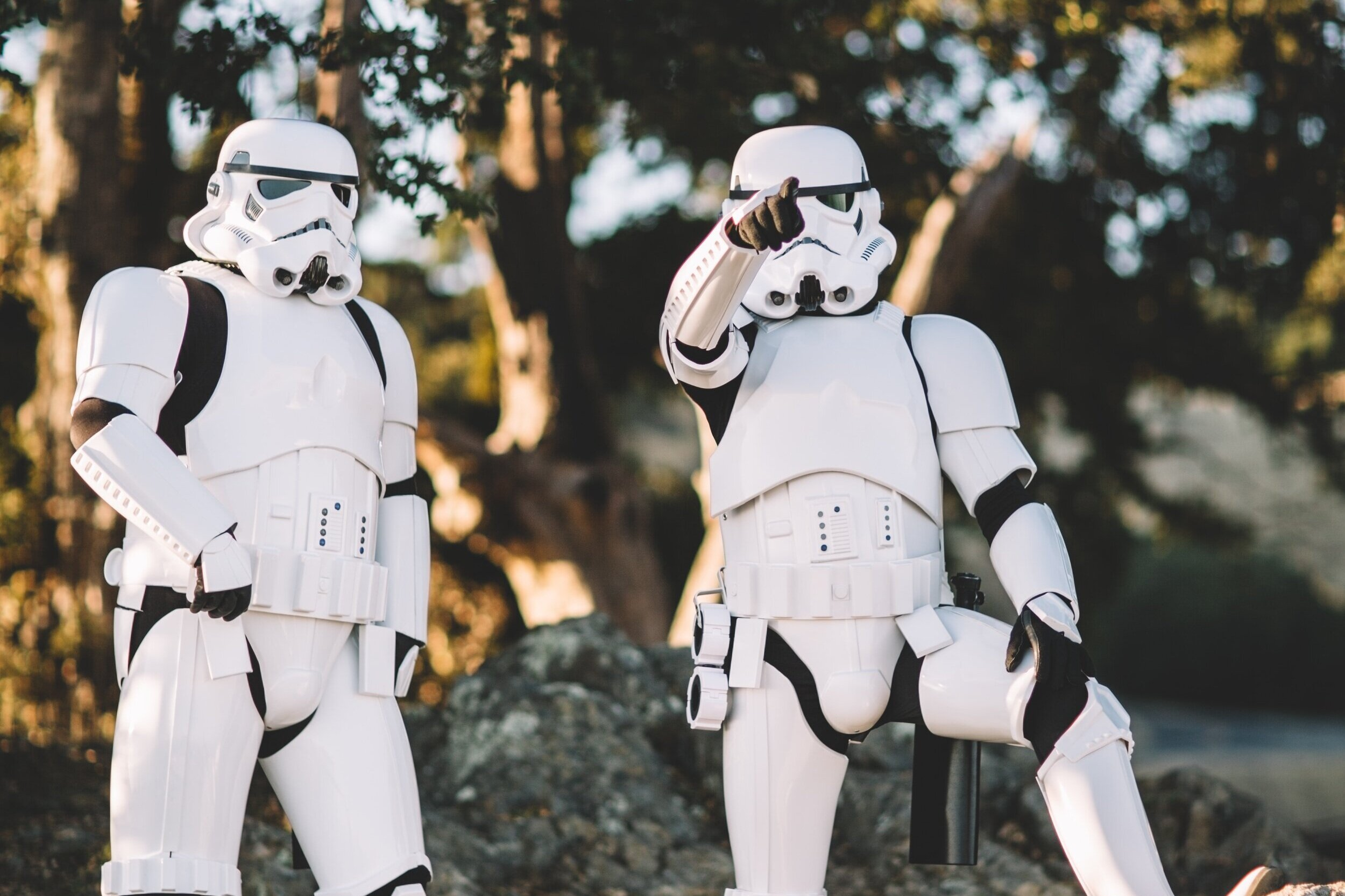 MONDAY - Stormtrooper Day