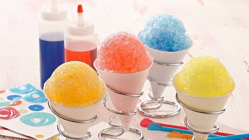 SHAVED ICE - 6:00 PM-8:30 PM