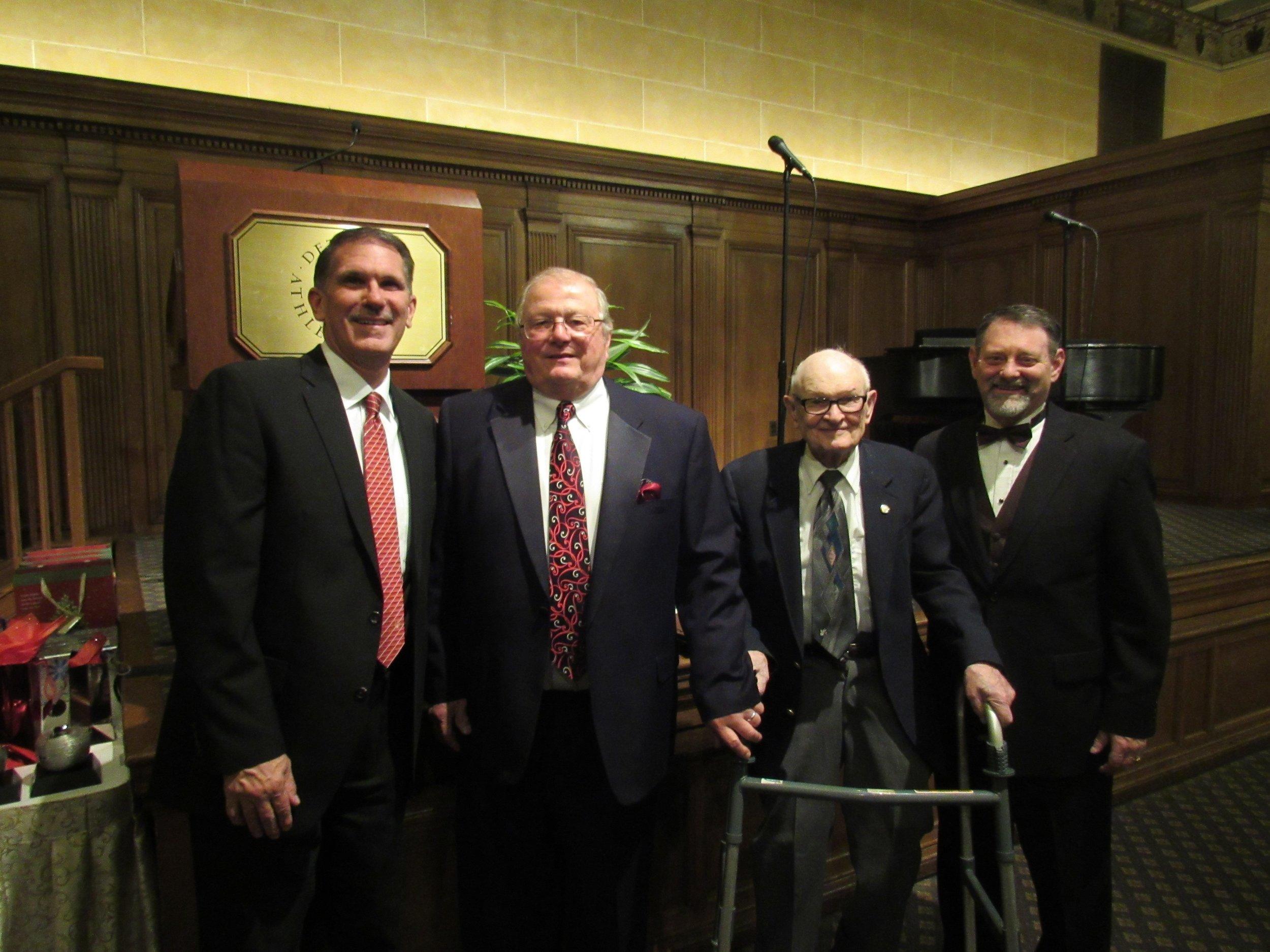 Past and Present LHSA Superintendents (Pictured Left to Right):    Mr. Paul Looker 2019 Rev. Dr. John Herzog 1989-2011 Dr. Herbert Holdenhauer 1975-1989 Mr. Steven Meske 2011-2019