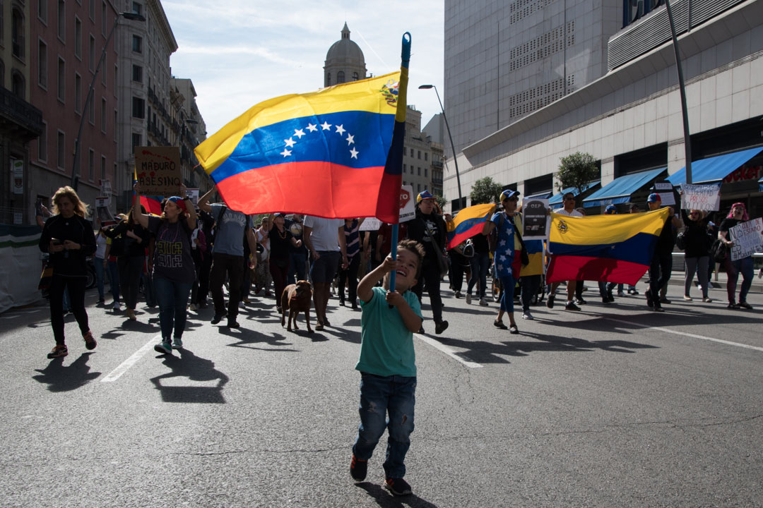 manifestación venezuela -